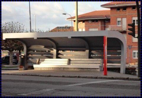 Rehabilitación Visera parada autobus Sta Apolonia