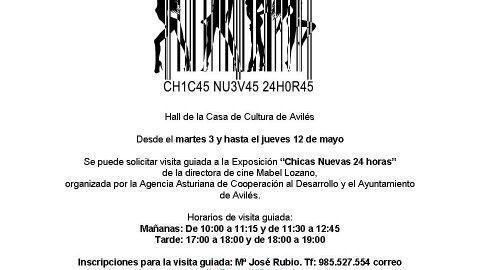 VEN A LA EXPOSICIÓN CHICAS NUEVAS 24 HORAS