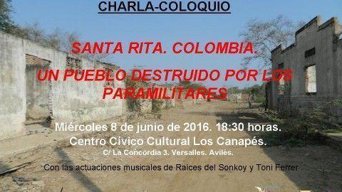 CHARLA – COLOQUIO SANTA RITA. COLOMBIA