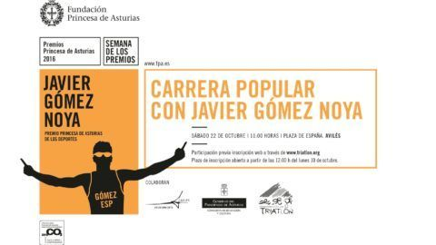 Carrera Popular con Javier Gómez Noya
