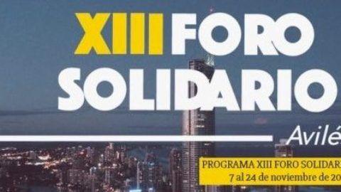 XIII Foro Solidario