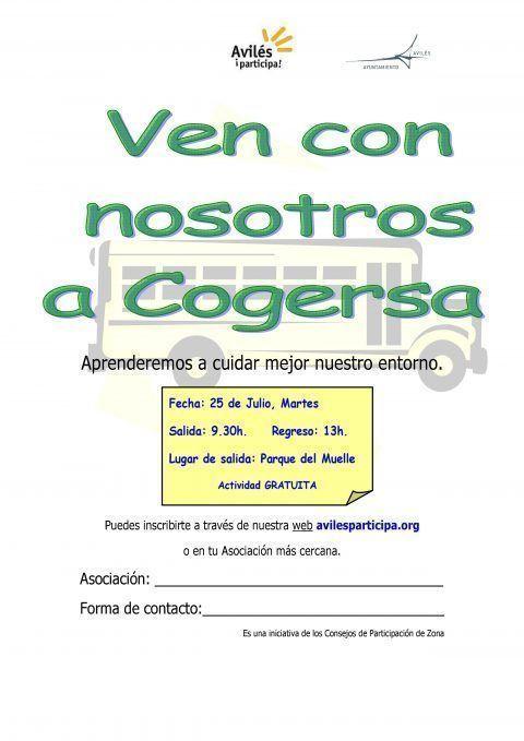 Visita a Cogersa