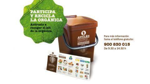 El reciclaje de materia orgánica llega a nuevas zonas de Avilés.