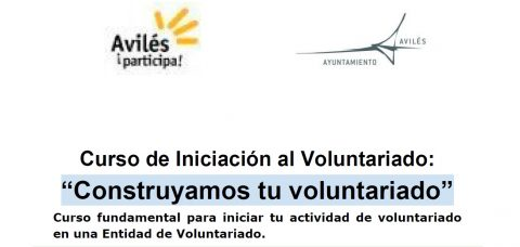 ¡Anímate! Curso Iniciación al Voluntariado