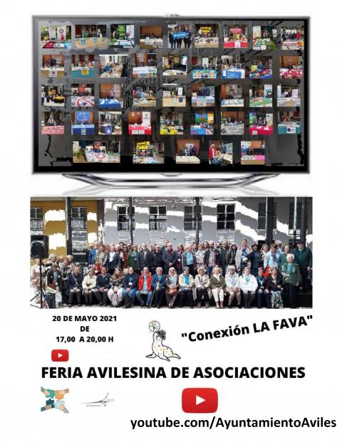 35 entidades participaron en una nueva edición de la Feria Avilesina de Asociaciones (FAVA)