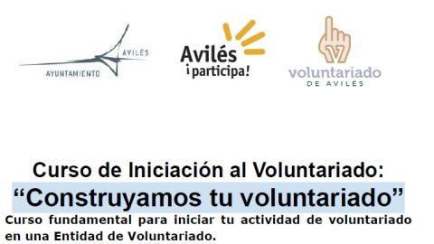 Participa en el Curso de Iniciación al Voluntariado